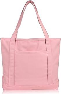 /'Cute Mouse/' Cotton Shopper Tote Bags BG009650