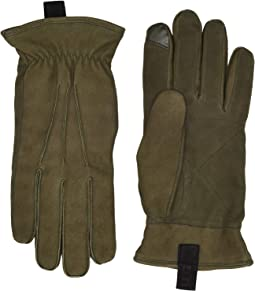 3 Point Leather Gloves with Conductive Tips