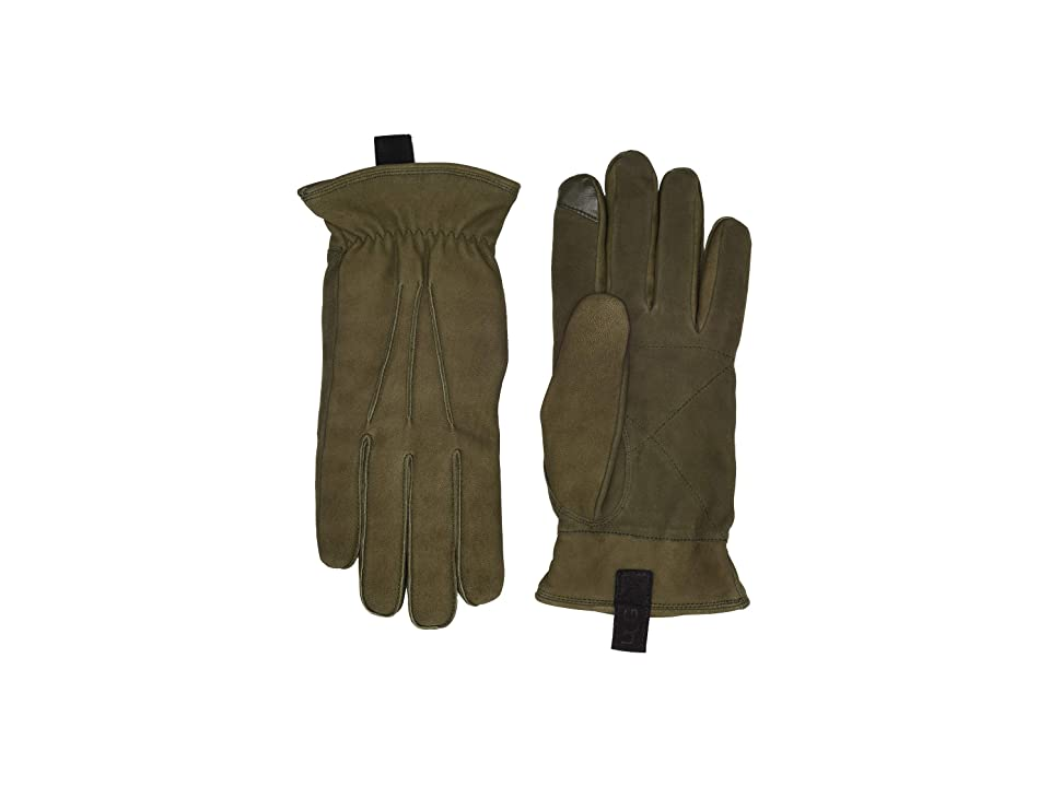 UGG 3 Point Leather Gloves with Conductive Tips (Fatigue) Extreme Cold Weather Gloves
