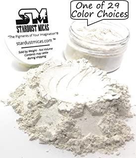 Stardust Micas SDM Pearl Ex Powder Pigments Pigment Powder Cosmetic Grade Colorant for Makeup, Soap Making, Epoxy Resin, DIY Crafting Projects Stardust Pearl