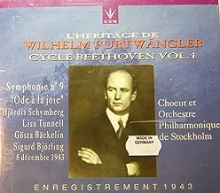 L'Heritage de Wilhelm Furtwängler - Cycle Beethoven - Volume 4 - Symphony No. 9