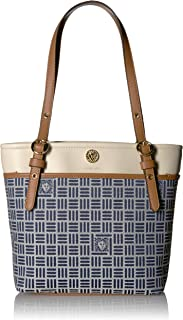 Anne Klein Jacquard Small Pocket Tote