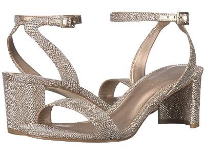 Pelle Moda Moira 2 (Platinum Gold Metallic Textile) Women