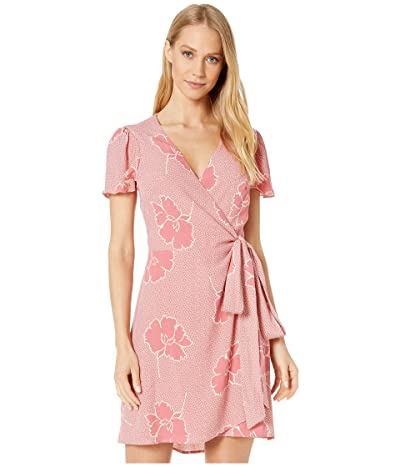 Show Me Your Mumu Grace Wrap Dress (Lovely Floral Crepe) Women