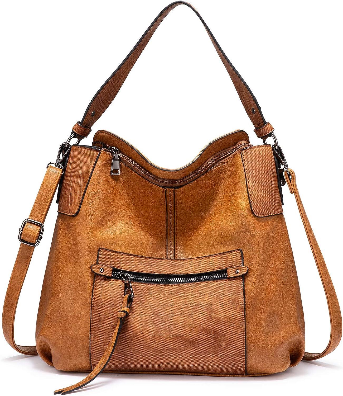 Realer Hobo Purses and Handbags for Women Shoulder Bag Large Crossbody Bags with Tassel