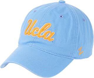 CampusHats University of California Los Angeles UCLA Bruins Light Blue Scholarship Relaxed Unstructured 100% Cotton Mens/Womens Baseball Hat/Cap Size Adjustable