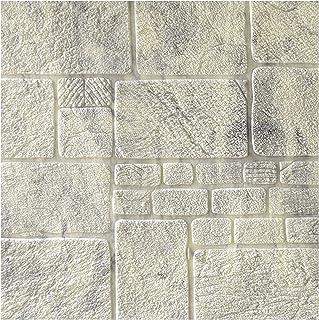 ملصق حائط من CAETNY Popular Marble Film Stone Wall Paper 3D Foam Tile Wall Sticker لغرفة الطعام ، غرفة النوم ، الجدار الدي...