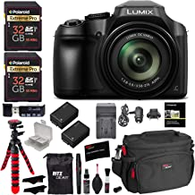 Panasonic Lumix DC-FZ80 Digital Camera, 32GB SDHC Memory Card, 2 Spare Batteries, DSLR Camera Bag, Ritz Gear Cleaning Kit,...