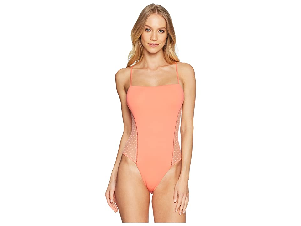 Isabella Rose Swiss Miss One-Piece (Persimmon) Women