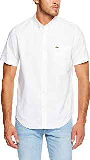Lacoste Men's Ss Oxford Shirt