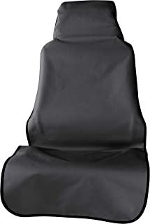 ARIES 3142-09 Seat Defender 23.5 x 58.25-Inch Black Universal Bucket Car Cover Protector