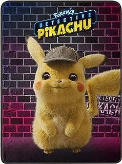 PIKA Pokemon, Pikachu Silk Touch Throw Blanket Toy, Multicolor, 40 x 50