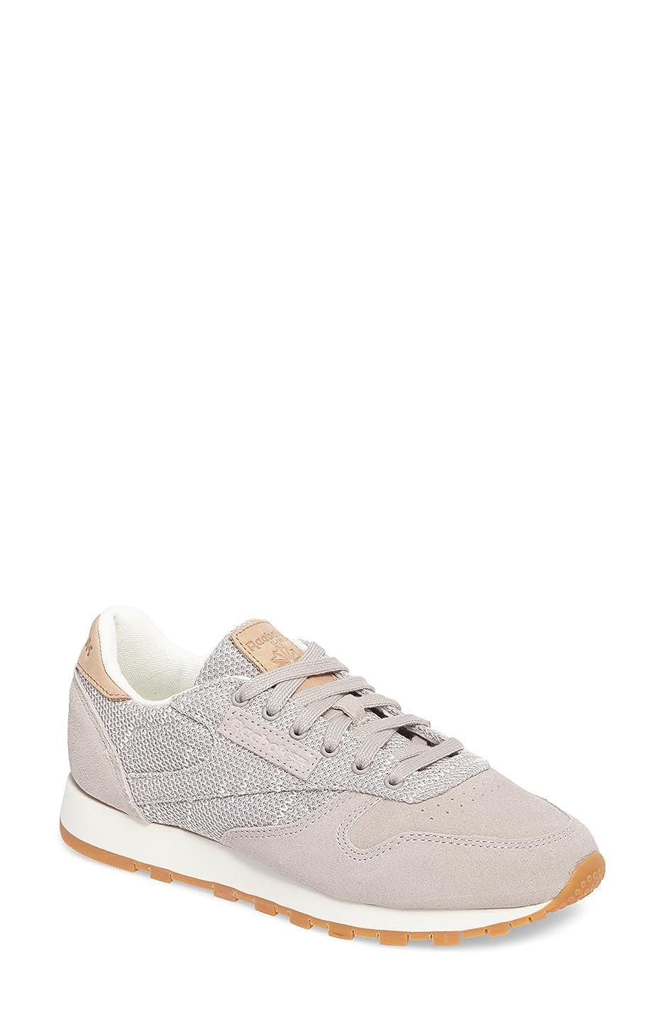広い鍔等々リーボック シューズ スニーカー Reebok Classic Sneaker (Women) Grey/ Chal [並行輸入品]