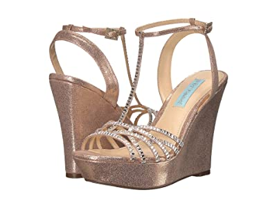 Blue by Betsey Johnson Ember Wedge (Champagne) Women