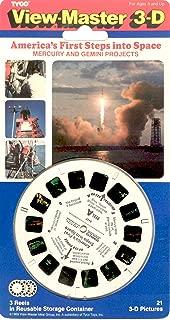 View-Master 3D 3-Reel Card America in Space Mercury & Gemini