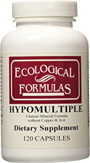 Cardiovascular Research Hypomultiple Vitamin-Mineral Formula Capsules, 120 Count