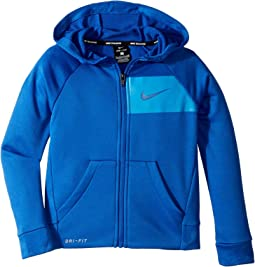 Nike Dry Full Zip Hoodie (Little Kids)