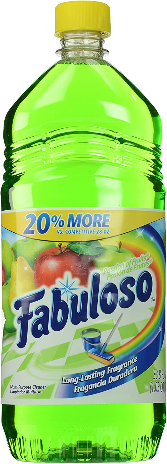 Fabuloso All Purpose Cleaner, Passion Fruit, 33.8 Ounce