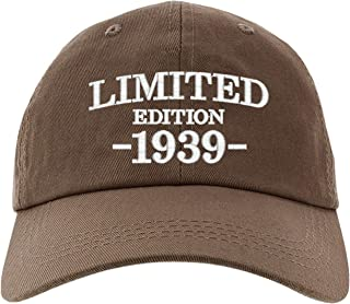 Cap 80th Birthday Gifts Limited Edition 1939 All Original Parts Baseball Hat