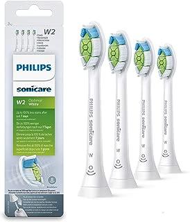 Philips Sonicare HX6064/10 4 只刷头 *佳白色 W2 刷头 白色 W2 刷头 白色