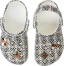 Drew X Classic Chevron Clog (Toddler/Little Kid)