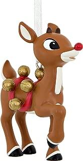 Hallmark C. Media Rudolph with Bells Christmas Ornaments