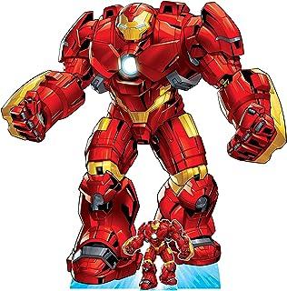 Star Cutouts Ltd SC1615 Hulk Buster Armour Recorte de cartón de tamaño real perfecto para los fans de Marvel, fiestas y ev...