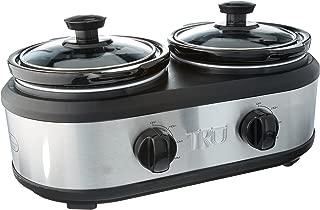 TRU Dual Crock Buffet Slow Cooker SC-2125