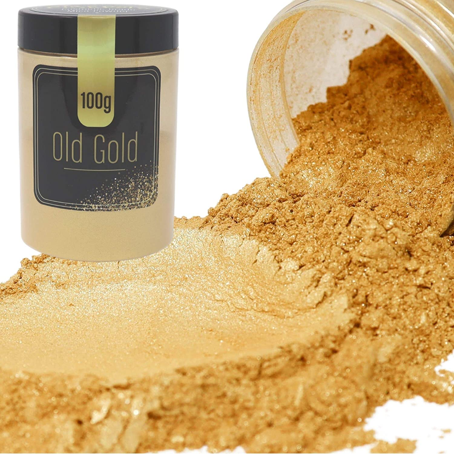 FIREDOTS Old Gold Mica Powder for Max 49% Outstanding OFF Cosmetic Epoxy - R Grade Resin