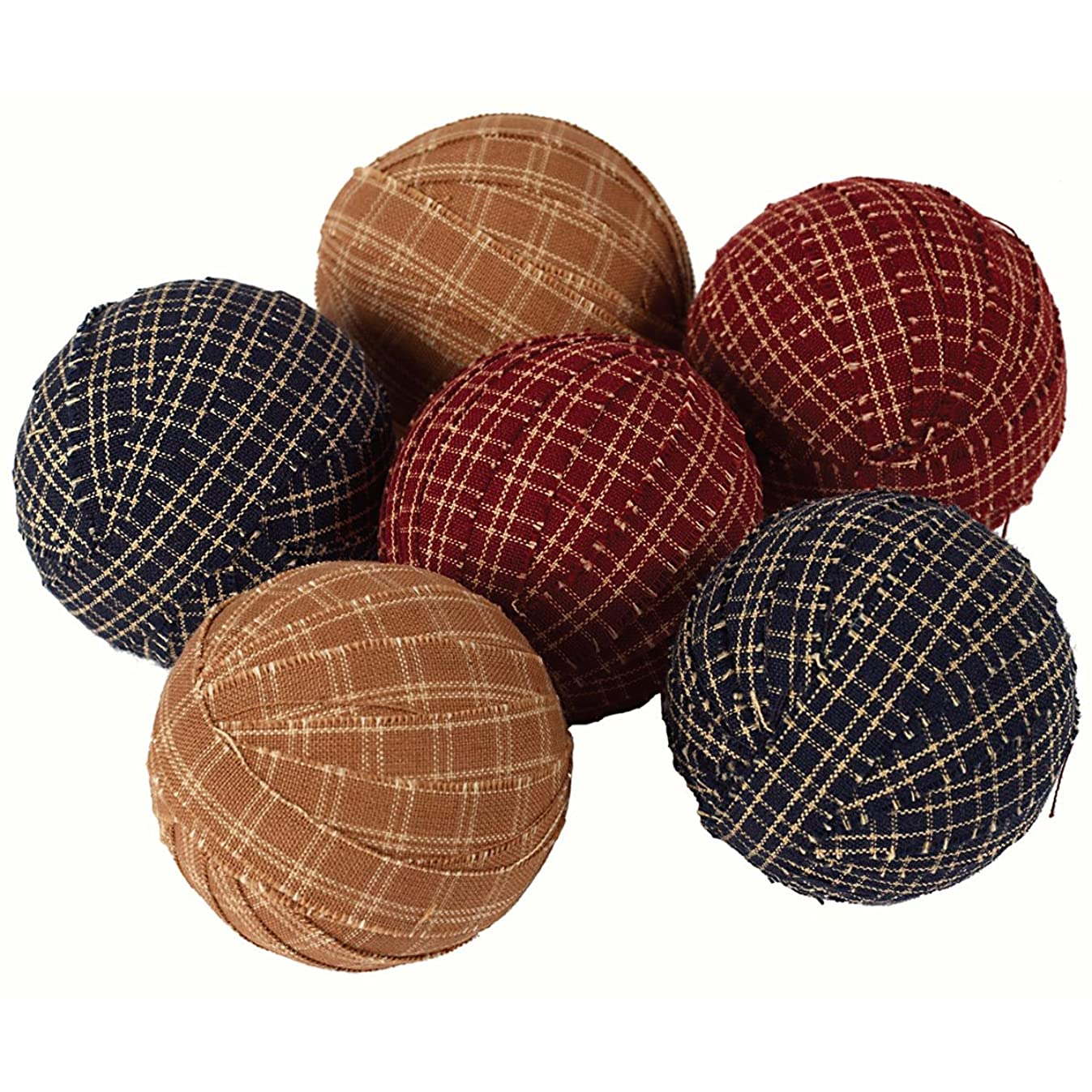 Large Primitive Rag Balls Set