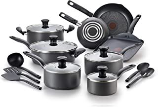 T-fal B208SI64 Initiatives Nonstick Inside and Out Dishwasher Safe Oven Safe Cookware..