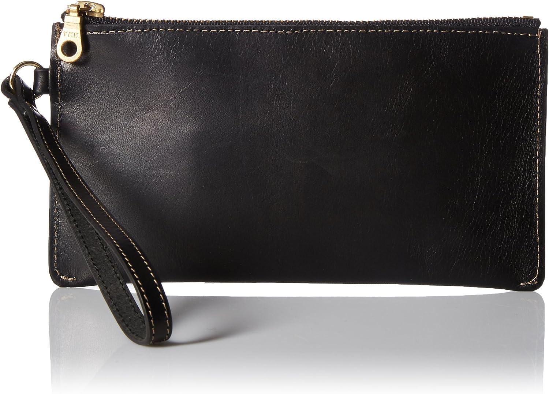 Circa Leathergoods Women's Circa Zip Wristlet