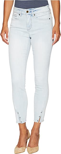 Petite Ami Skinny Ankle w/ Twisted Side Seam in Palm Desert