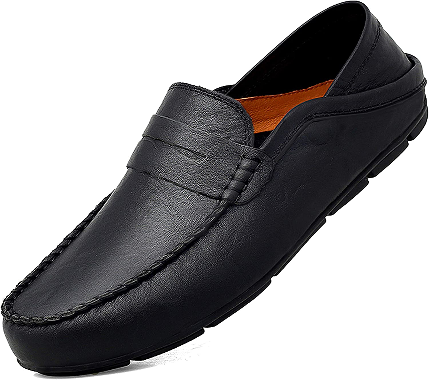 Go Tour Mens Loafers Casual for Slip-on Driving Shoe Men Deluxe Free shipping / New
