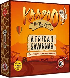 KAADOO - The Classic BIG GAME to Discover African Savannah - Migration Mania - Knowledge-building Educational Adventure Sa...
