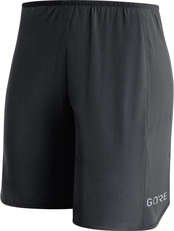 GORE Wear Atmungsaktive, Kurze Damen 2in1 Laufhose, GORE Wear R3 Women 2in1 Shorts, 100070