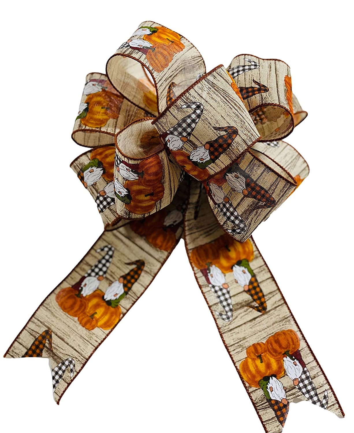 Large - Thanksgiving Fall Gnome Ranking TOP20 Add for Wreaths On Baltimore Mall or Bow Sign