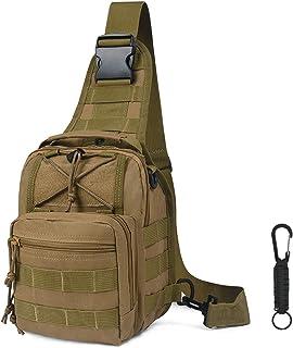 flintronic Sling Bag, Bolso Cinturón Táctica Militar Compacta 600D Nylon para Herramientas Pequeñas de Multiusos Teléfono ...