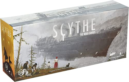 Stonemaier Games Current Edition Scythe The Wind Gambit Board Game