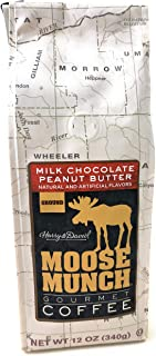 Harry & David Moose Munch Milk Chocolate Peanut Butter Ground Gourmet Coffee