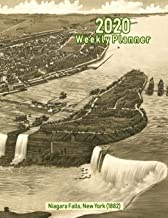 2020 Weekly Planner: Niagara Falls, New York (1882): Vintage Panoramic Map Cover