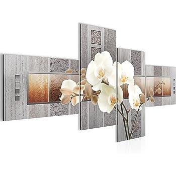 WANDBILDER XXL BILDER Blumen Orchidee VLIES LEINWAND BILD KUNSTDRUCK 204012P