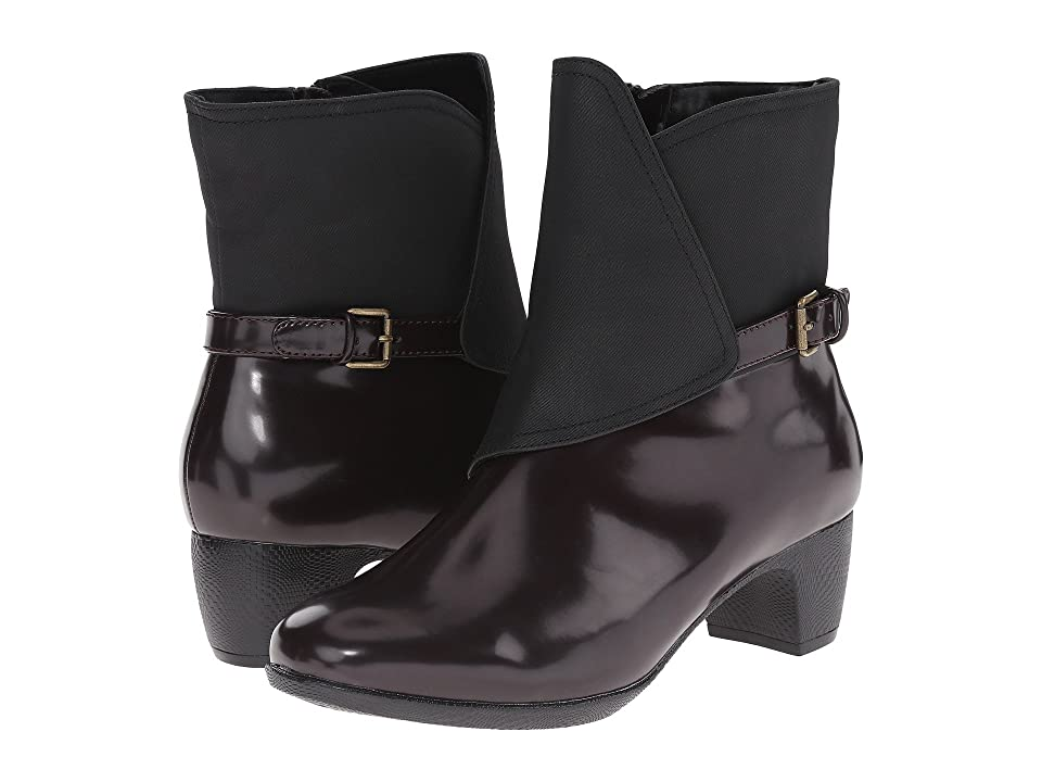 SoftWalk Puddles (Bordeaux/Black Box Leather Man Made) Women