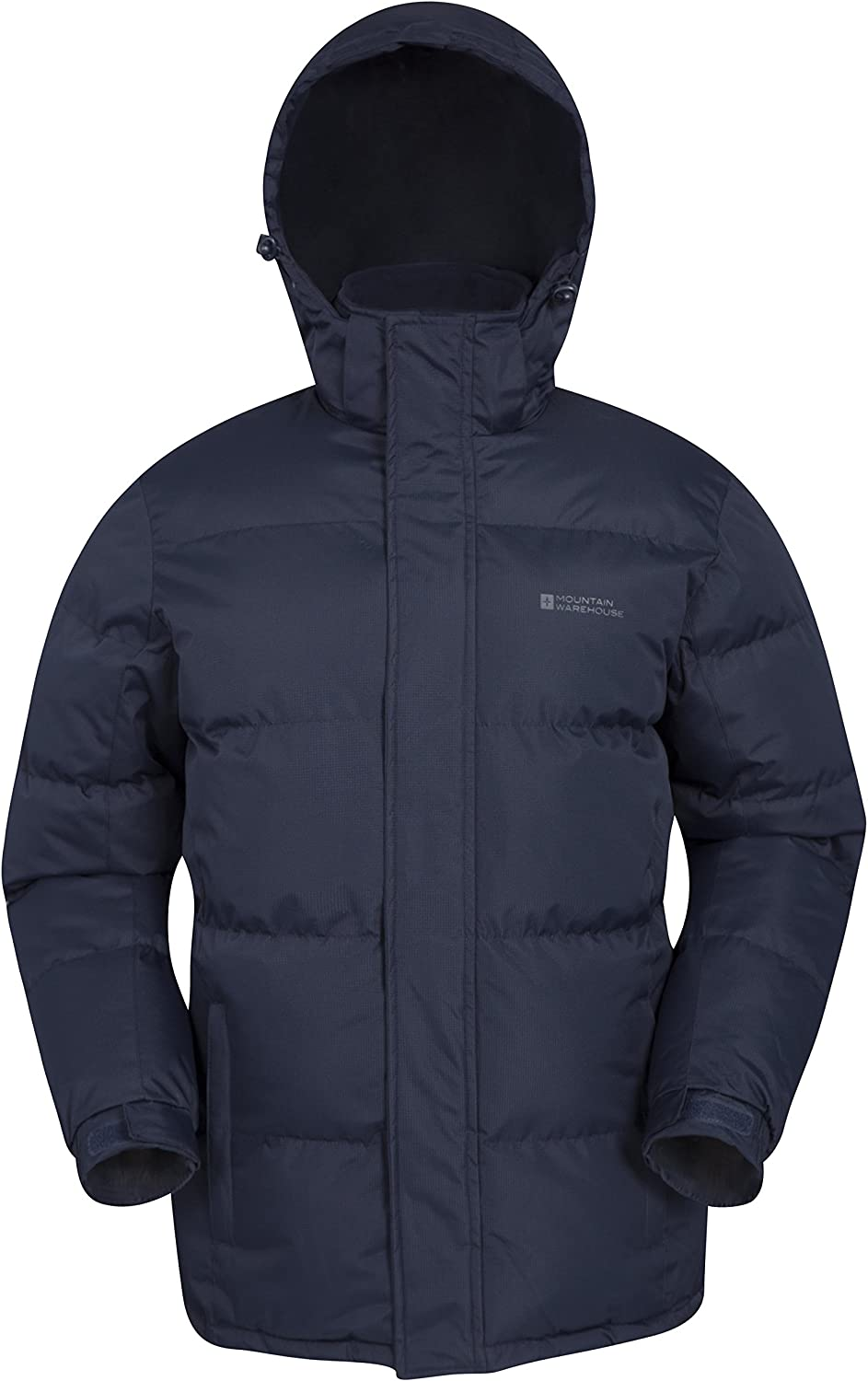 Mountain Warehouse Snow Mens Winter Jacket  Water Resistant Raincoat