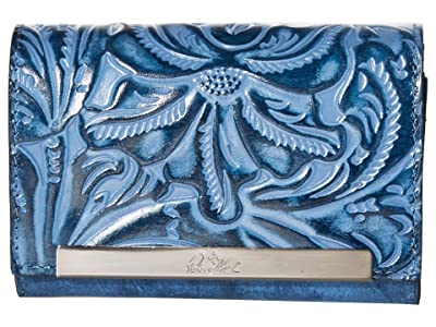 Patricia Nash Cametti Wallet (Safflower Blue) Wallet Handbags