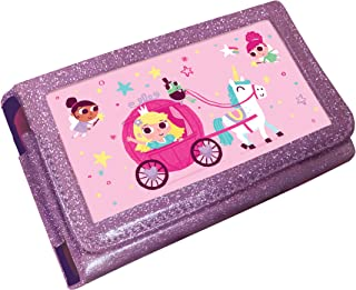 Princess Unicorn Animated 3D Pink Glitter Case (Nintendo 3DS XL /2DS XL)