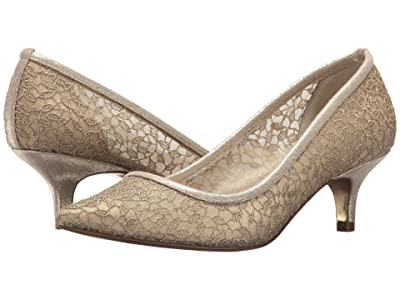 Adrianna Papell Lois Lace (Gold Valencia Lace) Women