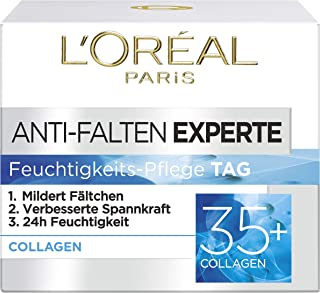 L'Oréal Paris – Collagen 35+ Anti-Wrinkle Expert Antirynk Dagkräm, Genomskinlig, 50 ml