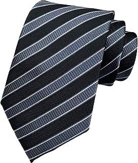 Ctskyte Men's Plaid Check Stripe Ties Pattern Business Formal Designer Neckties