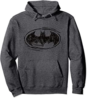 Batman Logo Sketch Sweat à Capuche